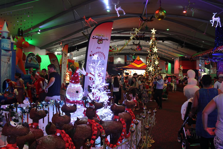 sydney santa spectacular events by atc
